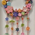 85 TOKYO 2020花と水引のリース 飯高和美
