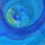99 河野みつ江 「無音のミデア1」